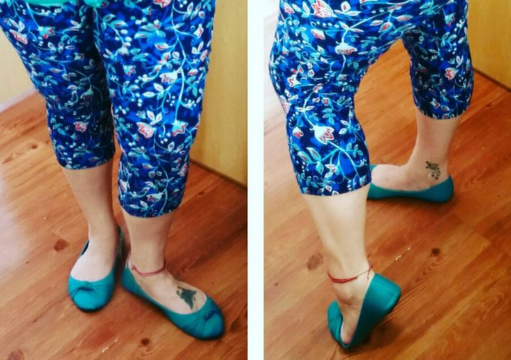 how to turn leggings into capris