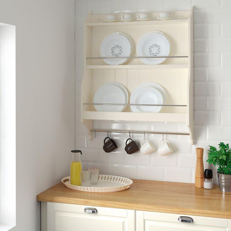 Plate Shelves Kitchen Wall Storage, Kitchen Shelf Organizer Ikea