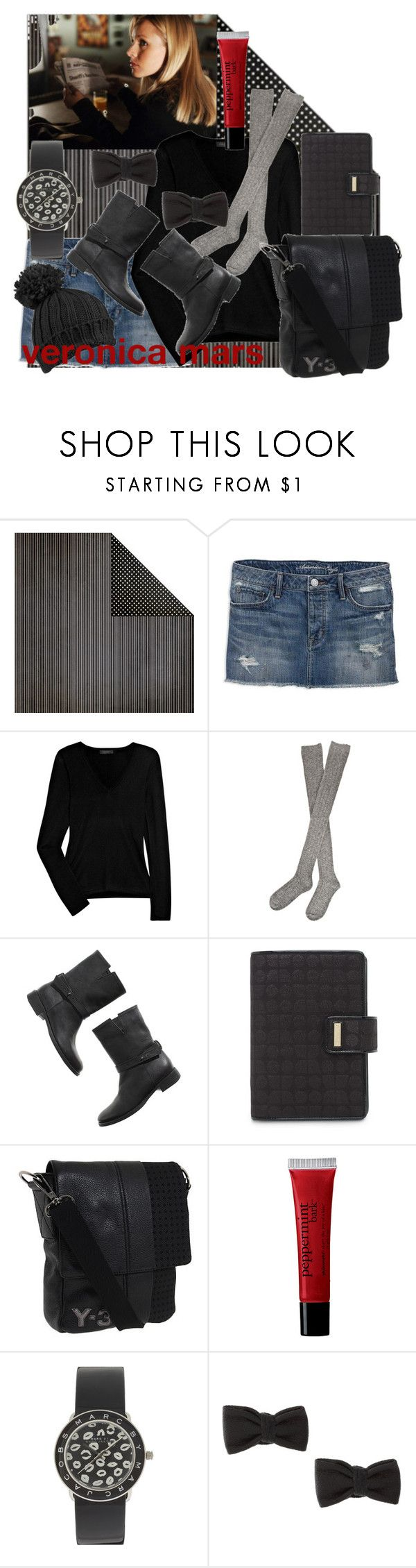 """""""veronica mars"""" by margarita25 ❤ liked on Polyvore featuring American Eagle Outfitters, Calvin Klein Collection, Hansel from Basel, Madewell, Kate Spade, Y-3, philosophy, Marc by Marc Jacobs, ASOS and Forever 21"""