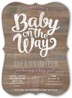 SAVE 40% when you create baby shower invitations at Shutterfly. Our heartfelt designs are easily personalized to…