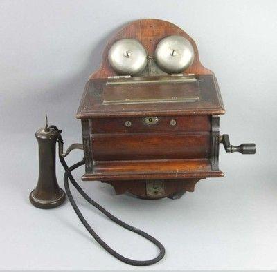 CENTRALKA TELEFONICZNA APARAT POCZ. XX WIEKU(6069)