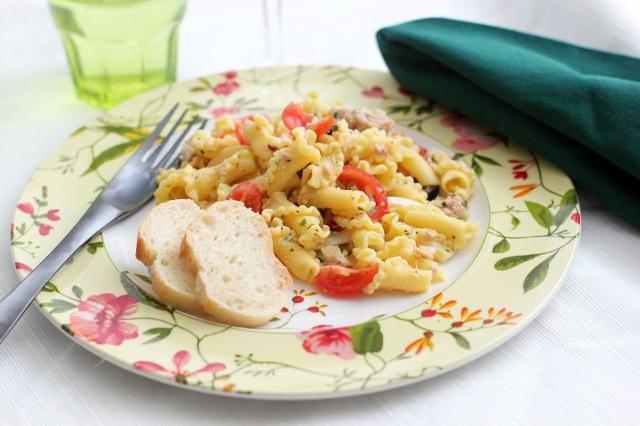pasta salad with tuna #recipe