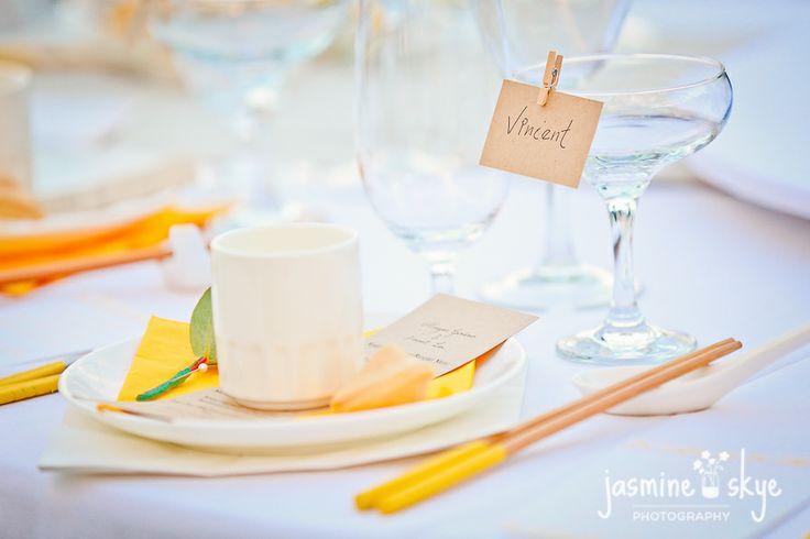 wedding table set up. perth weddings.