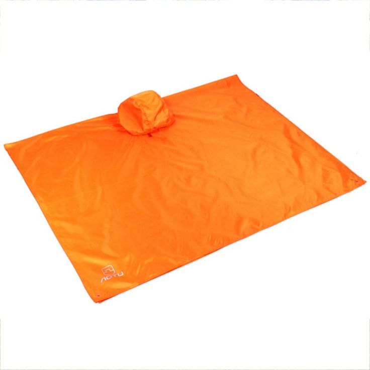 Multi-functional Outdoor Tools Triple Backpack Rain Cover For Climbing Cycling Waterproof Survival Tent Mat Canopy #Affiliate