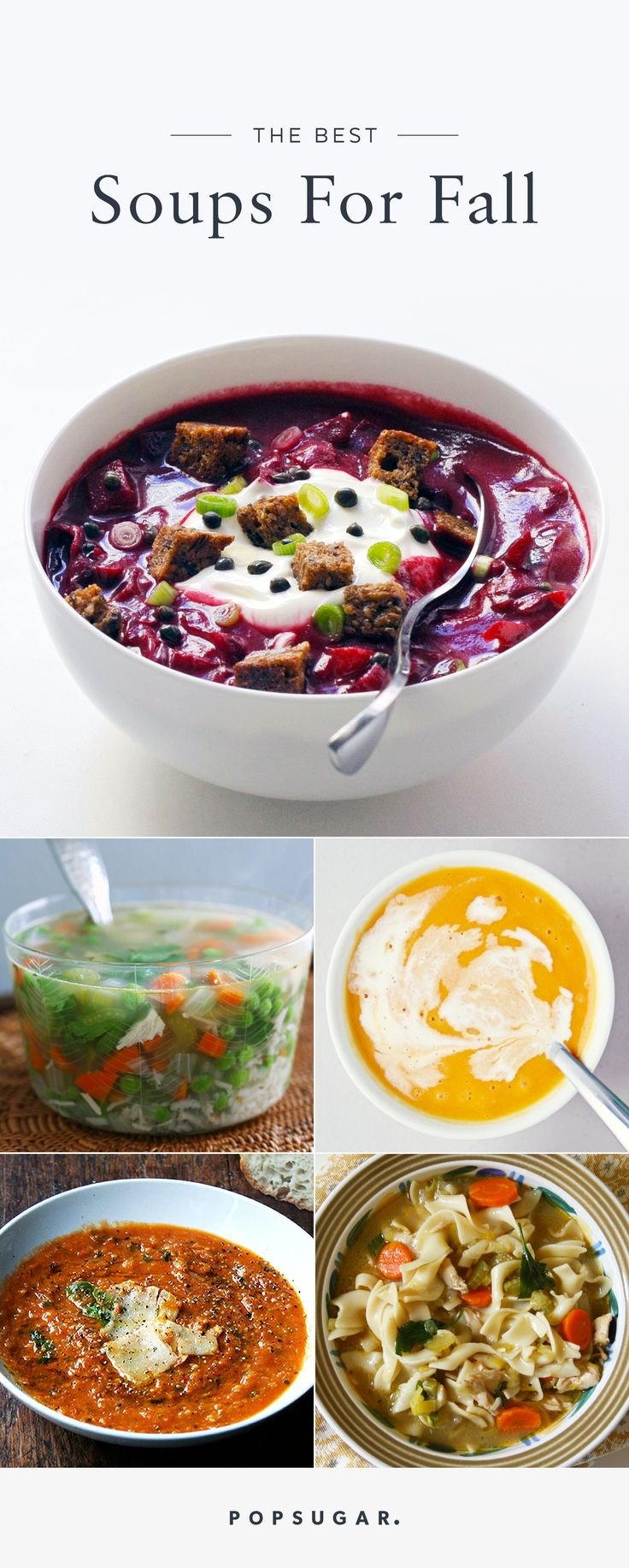 686 best perfectly seasonal fall images on pinterest popsugar 14 fall soups because salads are so last season recipe roulettepopsugar foodpumpkin forumfinder Choice Image