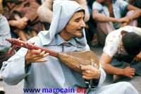 Le guenbri - Instrument de musique marocaine