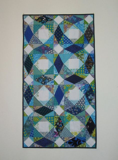 The movement in this quilt is amazing! I love Storm at Sea blocks for this very reason!!