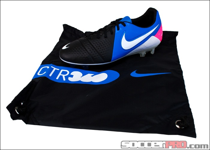 Nike CTR360 Maestri III FG Soccer Shoes - ACC - Black with Photo Blue and  Pink