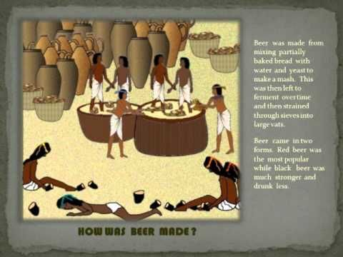 FOOD AND DRINK IN ANCIENT EGYPT SLIDE SHOW