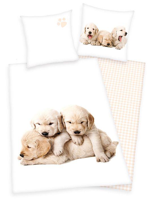 """Παπλωματοθήκη  Σκυλακια - Κουταβακια Λαμπραντορ Σετ Μονή """"Pups"""""""