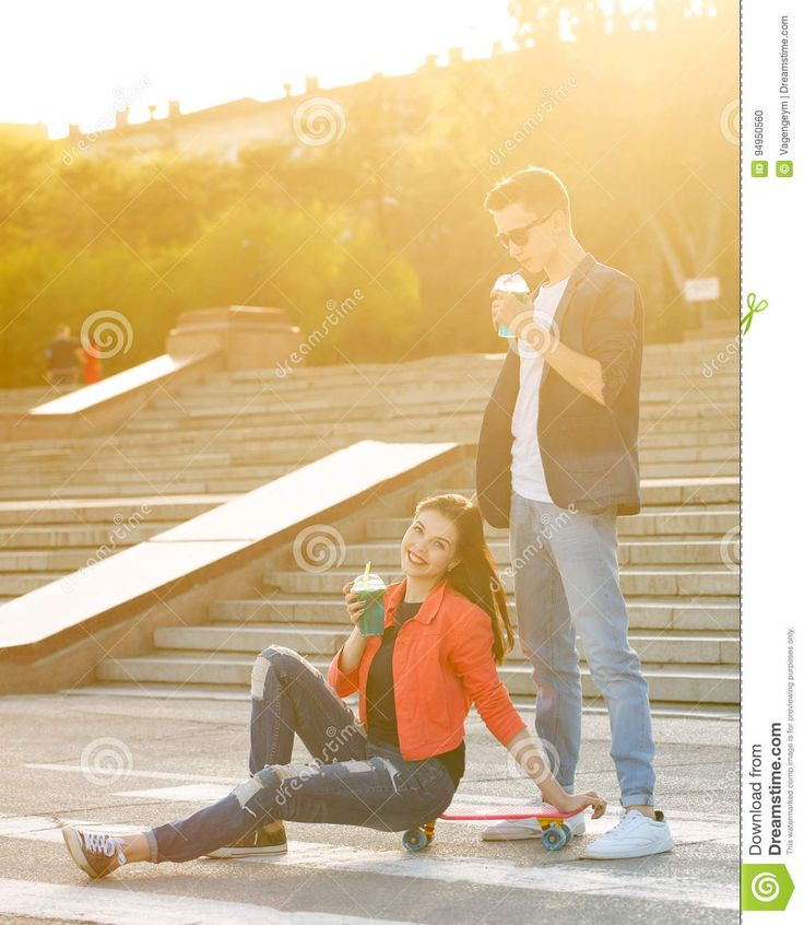 Teens On A First Date - Download From Over 61 Million High Quality Stock Photos, Images, Vectors. Sign up for FREE today. Image: 94950560