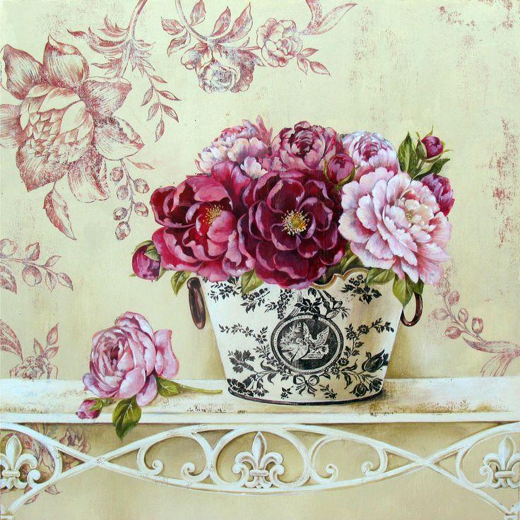Цветы в стиле ретро купить украина