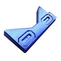 Stern Blue Chrome Plated Bottom Arch/Apron - Plastic