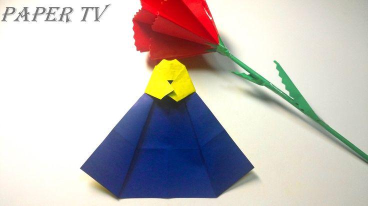 como hacer vestido tradicional coreano de papel