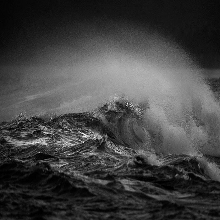 Storms can create big waves... literally