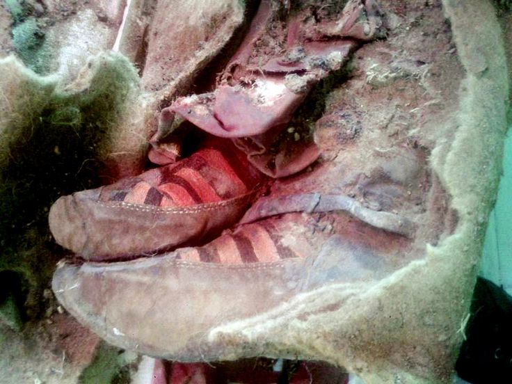 Proof of time travel? A 1,500-year old mummy was found wearing 'Adidas shoes'  A mummy was found 'wearing Adidas' and people think it's proof of time travel