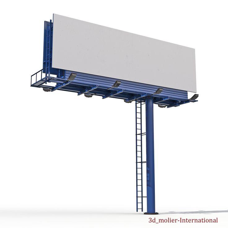3d model of Billboard  http://www.turbosquid.com/3d-models/3d-billboard-3/966167?referral=3d_molier-International