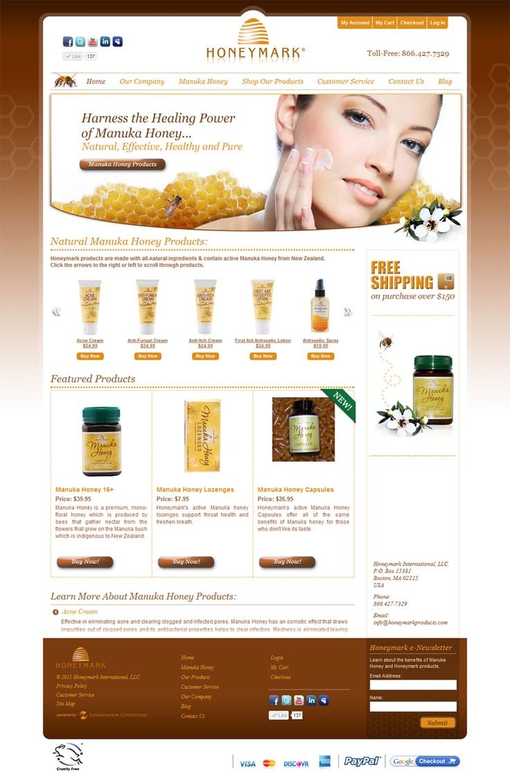 34 best Skin Care Website Design images on Pinterest | Website ...