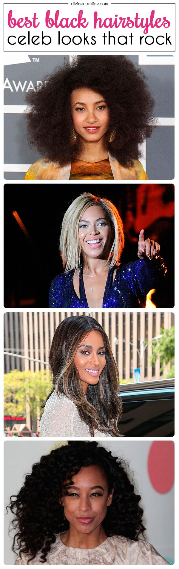 These stunning women rock signature styles you can use to inspire your own statement look! #hair #ethnic #hairstyle