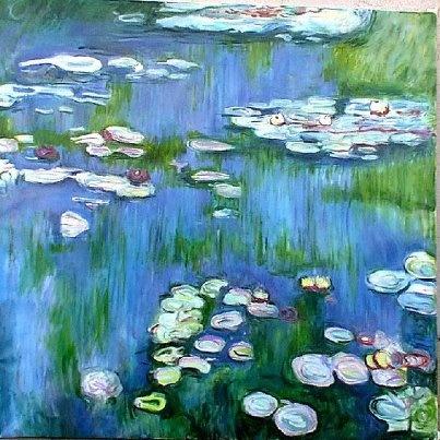Monet, Ninfee, 1916: Finestra Sull Art, Claude Monet, Ninf Monet Natura Jpg, Ninfeemonetnaturajpg 544544, 1916, Monet Water Lilies, Finestra Sullart, Eye, Ninfe Monet Natura Jpg 544 544