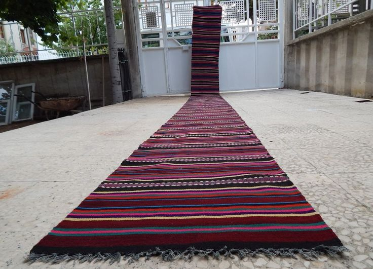 1 10 X21 8 Vintage Extra Long Turkish Handmade