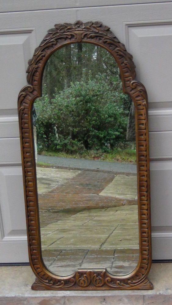685 Best Vintage Mirrors Images On Pinterest Vintage