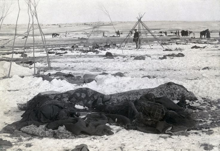 The Wounded Knee Massacre - The Worst Mass Shooting in U.S. History
