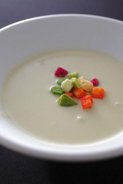 <スープ>枝豆の冷製ポタージュ