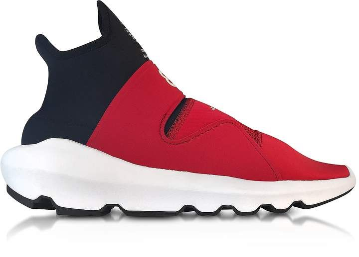 6ea74be952050 Y-3 Chili red Y-3 Suberou Slip on Sneakers