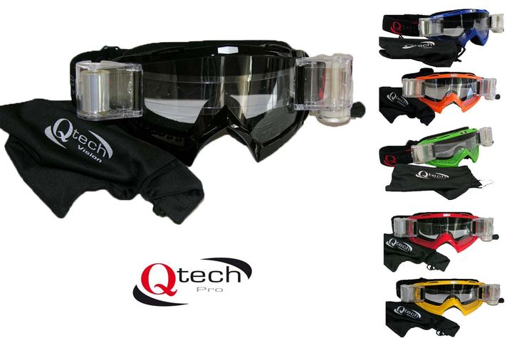 Published on Apr 9, 2015  A review of the QTech rip n roll off road motorcycle goggles.