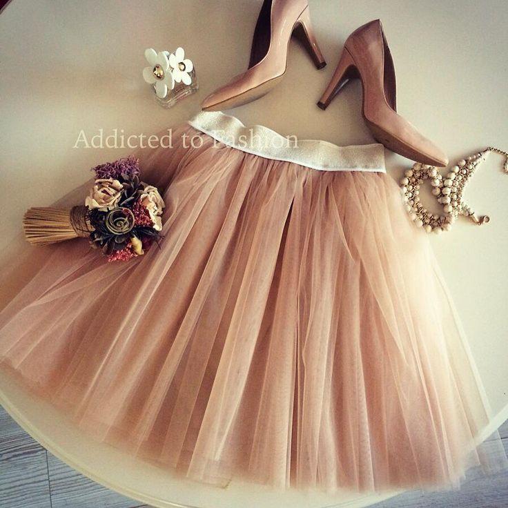 Cream of tutu skirt