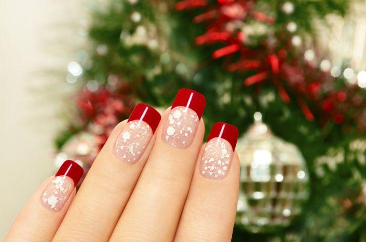 Uñas navidad