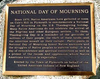 Native Americans explain why holiday is celebration of genocide- National Day of Mourning instead of Thanksgiving