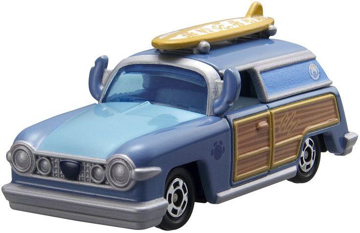 Tomica Disney Motors - DM-03 Lagoon Wagon Switch สินค้าลิขสิทธิ์แท้ นำเข้าจากประเทศญี่ปุ่น เหมาะสำหรับเด็กอายุ 3 ปีขึ้นไป