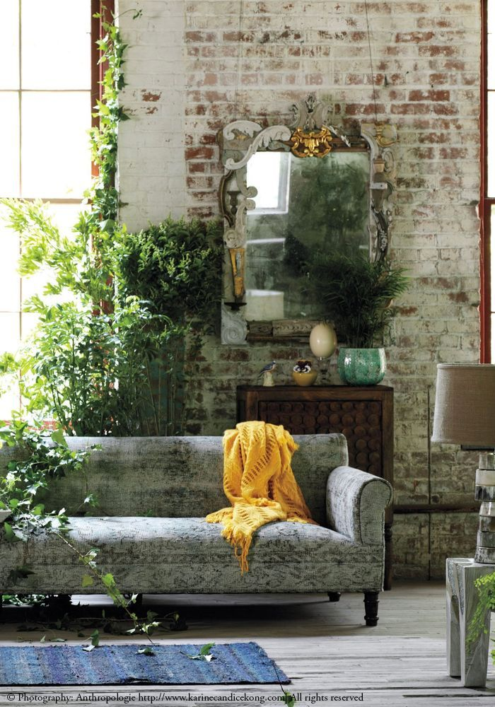 Urban Jungle In Industrial Interiors For More Inspo Head To Karinecandicekong