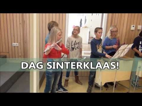▶ Dag Sinterklaas! (De Sint Cup Song) cbs Het Talent Heerde - YouTube