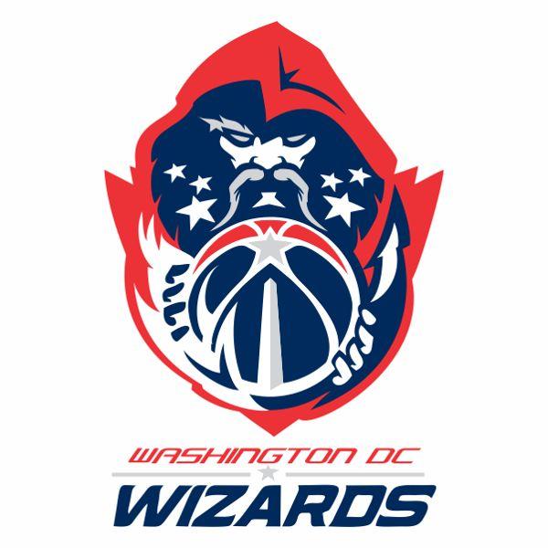 Washington Wizards Logo Concept by Jacen Aguilar, via Behance