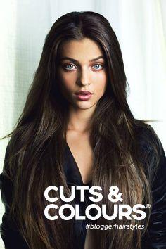 Lang donker haar | Een prachtige valling van het haar | Benieuwd hoe jij jouw lange haar het beste kunt verzorgen? Stap binnen bij Cuts & Colours!