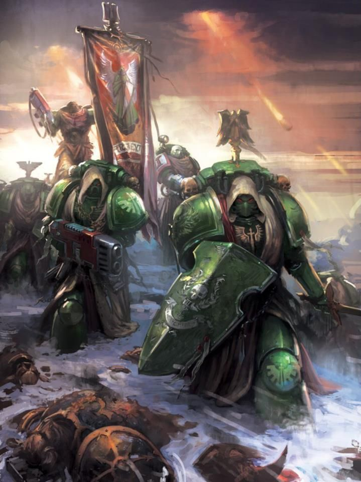 Dark Angels artwork.