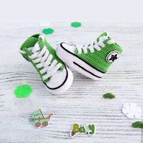 детские пинетки кеды вязаные для девочки, вязаные кеды для мальчика, конверсы вязаные, пинетки конверсы, вязаные пинетки кеды купить, зеленые пинетки, детские пинетки купить