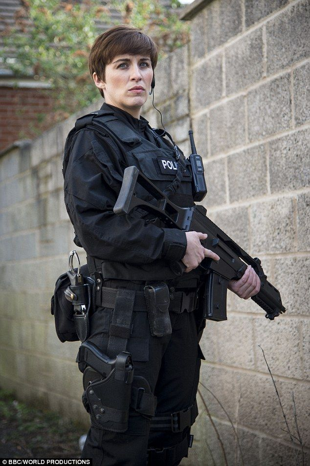 TV talent: This Is England star Vicky McClure is back as specialist Detective Constable Kate - Line of Duty (BBC 2012)
