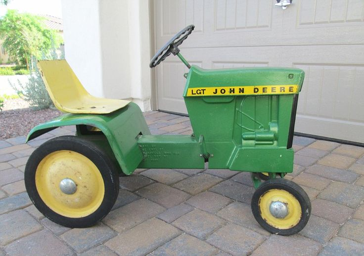 John Deere Tractor Car : Best images about pedal tractor on pinterest
