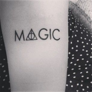 "42 tatuajes alocadamente mágicos de ""Harry Potter"" #tattoos"