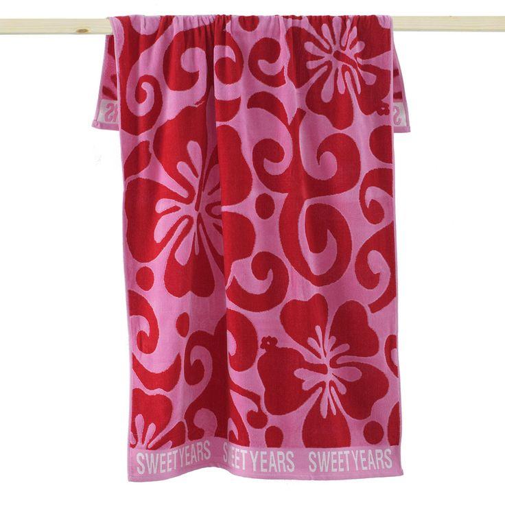 Telo Mare Sweet Years Hawaii Rosa http://www.carillobiancheria.it/telo-mare-sweet-years-hawaii-in-spugna-di-cotone-m998.html