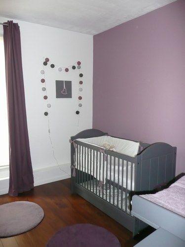 25 best ideas about murs prune sur pinterest salle de Moquette pour chambre bebe
