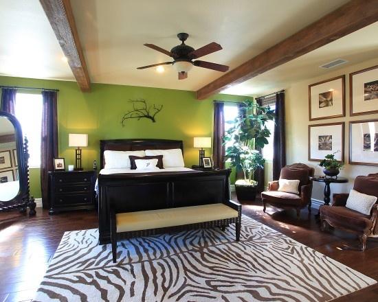 Zebra Bedroom Design, Pictures, Remodel, Decor and Ideas