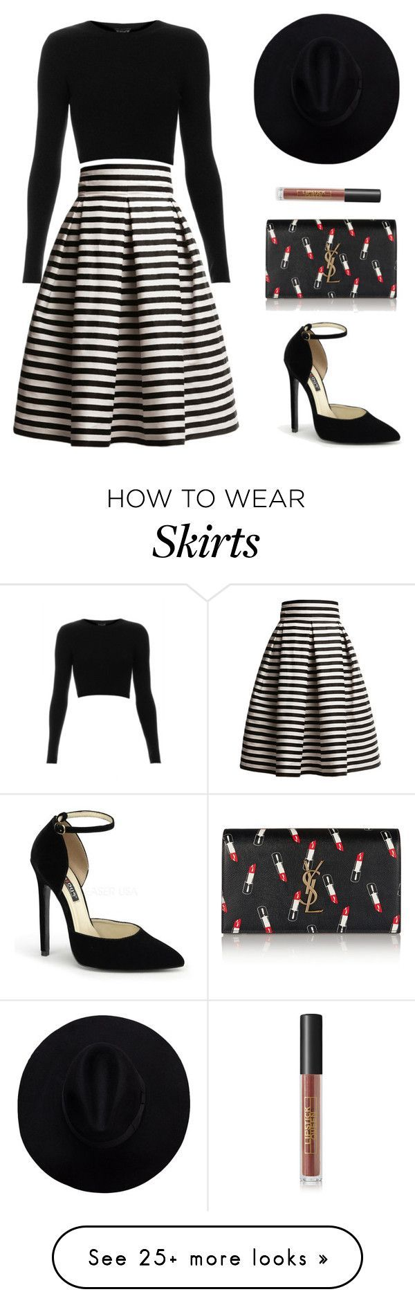 "awesome ""Untitled #710"" by patrisha175 on Polyvore featuring Rumour London, Topshop, Yve..."