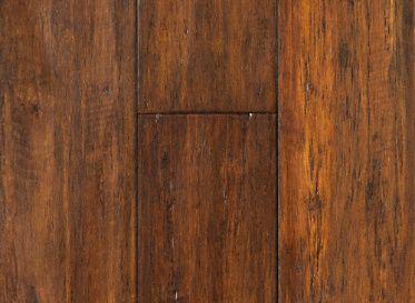 "3/8"" x 3-7/8"" Engineered Roasted Almond Bamboo - Supreme Bamboo | Lumber Liquidators"