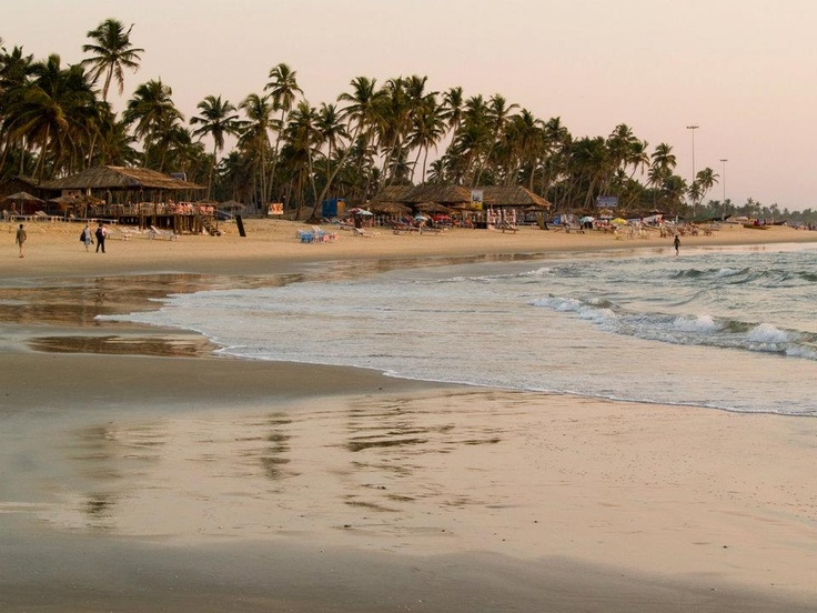 Colva Beach is the oldest, largest and the most spectacular of south Goa.