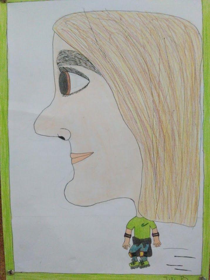 CARICATURES - Material: paper, llapis, colors - Nivell: 6PRI CS 2015/16 Escola Pia Balmes